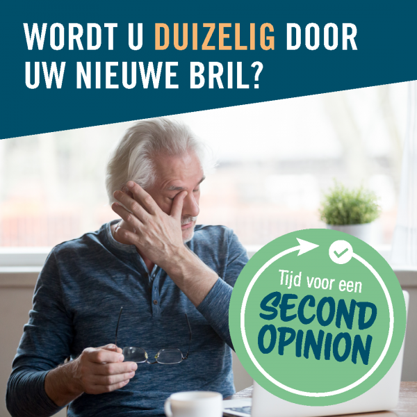 Second opinion weken bij Boonstra brillen opticien in apeldoorn