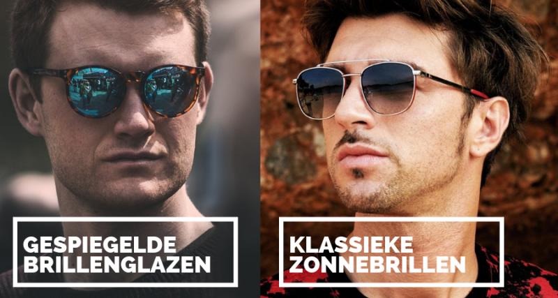Klassiekers en gespiegelde zonnebrillen