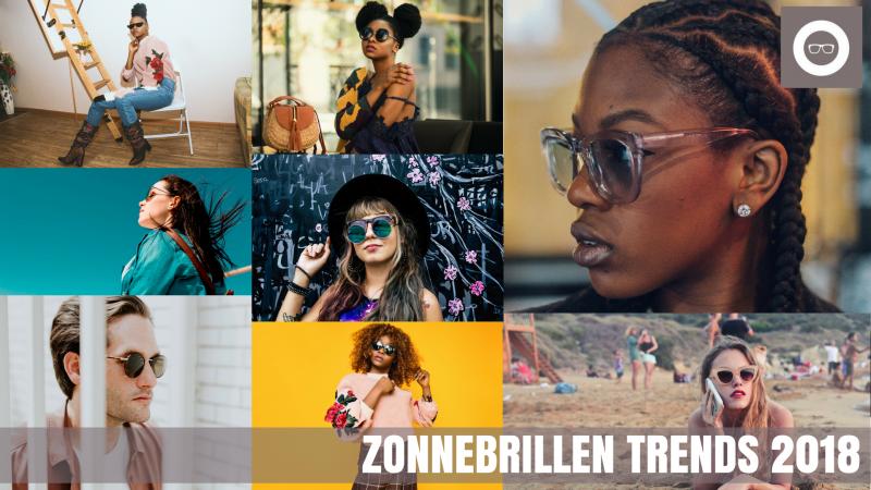Zonnebrillen trends 2018